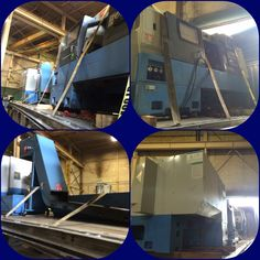 2 CNC machine's and 2 conveyer belts