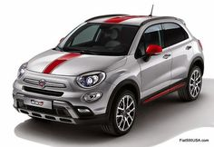Fiat 500X Cross with Color Pack Accessories