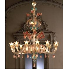 Modern colored Crystal Chandelier 13083