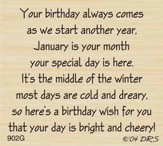 Best Birthday Quotes For Me January Words Ideas Birthday Verses For Cards, Birthday Quotes For Me, Birthday Poems, Birthday Card Sayings, Birthday Sentiments, Birthday Messages, Happy Birthday Cards, Birthday Greetings, Birthday Wishes