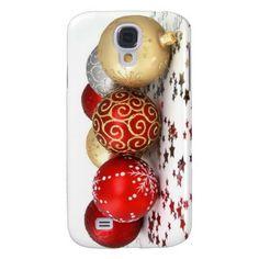 Christmas tree ball ornaments samsung galaxy s4 cover