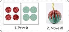 These easy to make Christmas Ornaments will brighten up your Christmas tree and home! It's simple to make your own Christmas decorations with the right instructions. Easy To Make Christmas Ornaments, Christmas Diy, Ornament Crafts, Christmas Crafts, Tissue Paper Roses, Wedding Crafts, Christmas Printables, Xmas Decorations, Origami