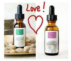 argan oil and maracuja oil