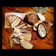 Scripture tags in a Jar