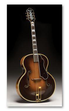 Vintage 1936 Epiphone Emperor Archtop Acoustic Guitar