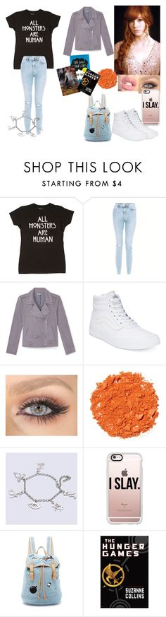 """""""Lily Evans"""" by viihsouusa ❤ liked on Polyvore featuring New Look, Rebecca Minkoff, Vans, Illamasqua, Casetify and Paul & Joe Sister"""