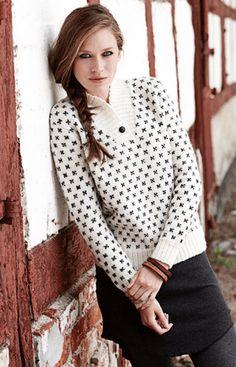 Strikket sweater i smart og tidløst design