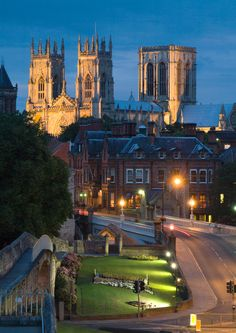 York, England. My prof. def did a good job choosing places for our excursions!
