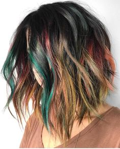 """Pulp Riot Hair Color on Instagram: """"Earth Tones... @erin.boha_hair is the artist... Pulp Riot is the paint."""""""