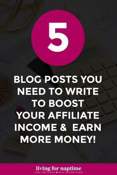 Tips For Clickbank Affiliate: How to Get Started with Affiliate Marketing + 5 Blog Post Ideas to Boost Earnings ** See more at the photo