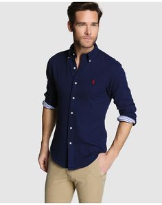 Latest mens fashion, fashion outfits, casual outfits, blue shirt outfits, p Smart Casual Outfit, Casual Chic Style, Casual Outfits, Camisa Polo Ralph Lauren, Blue Shirt Outfits, Urban Clothing Brands, Mens Casual Suits, Latest Mens Fashion, Fashion Fashion