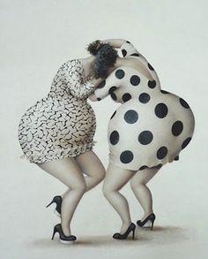 Il mondo di Mary Antony: Jeanne Lorioz Comic Art Girls, Art Visage, Plus Size Art, Black Aesthetic Wallpaper, Fat Art, Fat Women, Pebble Art, Big And Beautiful, Cartoon Art