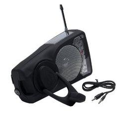 $48 Solar Radio, iPod/mp3 dock and LED Flashlight