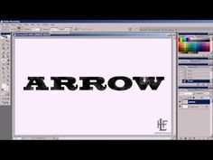 Distressing text in Adobe Photoshop
