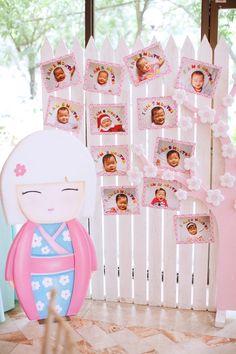 Zoe's Kokeshi Doll Themed Party – Photo Gallery Area