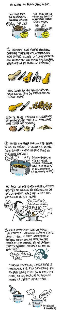 risotto de courge butternut et gorgonzola
