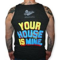 My House Is Your House - Fashion for the dance music minded people of the world Mens Tee Shirts, T Shirt, Global Brands, People Of The World, Dance Music, A Team, American Apparel, Funny Tshirts, My House