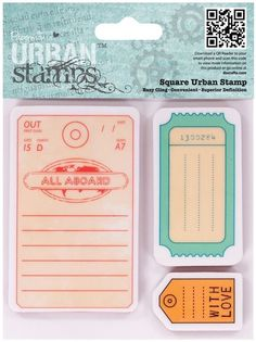 papermania urban stamps - Cerca con Google