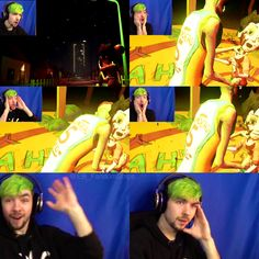 Jacksepticeye's world is upside down after this.