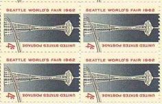 Seattle's World Fair Set of 4 x 4 Cent US Postage Stamps NEW Scot 1196 . $2.00. One set of four (4)Seattle's World Fair  4 x 4 Cent postage stamps Scot #1196