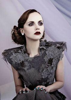 ANIA BASAK - Calgary MakeUp Artist/Fashion Stylist /Image Consultant: STUNNING CHRISTINA RICCI STARS IN AS IF MAGAZINE!!
