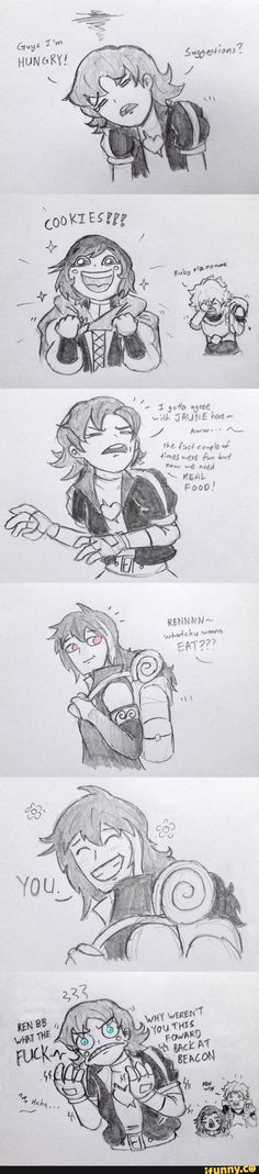 """Nora's just like """"Ren you little SHIT"""""""