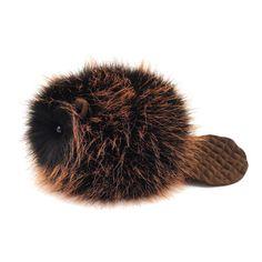Beaver Stuffed Animal Cute Plush Toy Beaver Kawaii by Fuzziggles