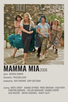 Iconic Movie Posters, Minimal Movie Posters, Minimal Poster, Iconic Movies, Mamma Mia, Film Poster Design, Poster S, Poster Prints, Wall Posters