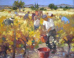 André Deymonaz 1946   French Impressionist painter  