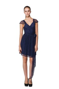 Joanna August Newbury Dress Short (Lace) Bridesmaid Dress | Weddington Way