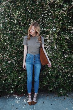 pretty little fawn | LA Fashion + Lifestyle Blogger: DENIM MADEWELL