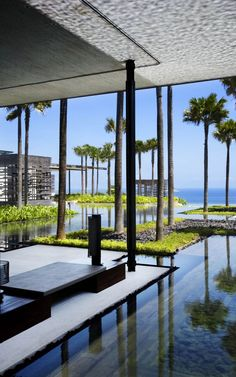 cicada landscape architects / alila villas uluwatu, bali (architecture: woha)  ~ Great pin! For Oahu architectural design visit http://ownerbuiltdesign.com
