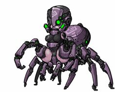 Centaur by MuHut on DeviantArt Female Character Design, Game Character, Character Concept, Robot Animal, Arte Robot, Pixel Animation, Robot Girl, Monster Musume, Anime Furry
