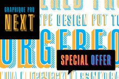 Graphique Pro Next by profonts on Creative Market