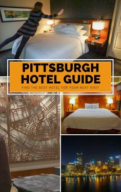 Visiting Pittsburgh soon and need a hotel? Check out some of our favorites in this robust guide to the city's hotel scene. Pittsburgh Hotels, Visit Pittsburgh, Pittsburgh Skyline, Luxury Travel, Travel Usa, Travel Advice, Travel Ideas, Travel Tips, Travel Reviews