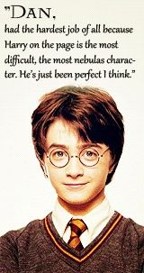 He was and always will be the greatest Harry Potter the world will ever see!!! <3 I love you Daniel!!!!! :)