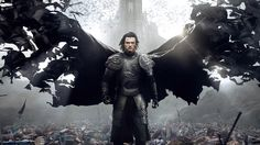 Luke Evans dons the fangs and cape to become one of pop-culture's most famous villains in the new Dracula Untold