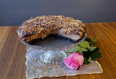 Chokladcheesecake Bagel, Tiramisu, Nutella, Tart, Deserts, Cheesecake, Sweets, Bread, Ethnic Recipes