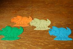 Flannel Friday: Dinosaur Stomp