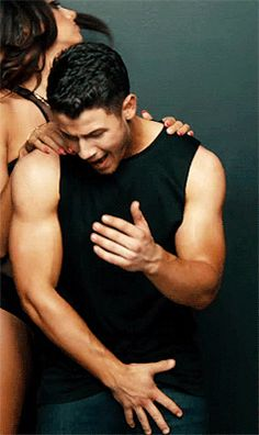 Nick Jonas - - - I'm a Nick fan. He's hot with a muscle-body. However I wish he would choose more carefully when he shows it. The Marky Mark photo shoot was SOOOO embarrassing!