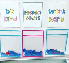 These posters are finally uploaded to my TpT store as a FREEBIE! 🤗 I'm always trying to think of ways to encourage positive behavior!…