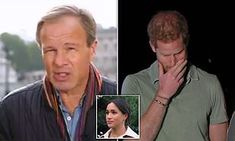 ITV's Tom Bradby on Prince Harry and Meghan Markle interview Prince Harry And Megan, Harry And Meghan, Meghan Markle Interview, Prince Harry Pictures, Abc Good Morning America, Online Stories, Wife Pics, House Of Windsor, Royal Albert Hall
