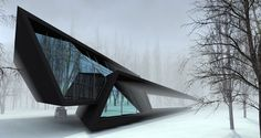 House in fthe Forest #archello.  I'm crying.  click 4 pics.  get a glass of wine & tissues, or take a tranquilizer.