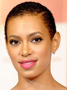 Solange Knowles #hairloss #hair #baldness #goingbald