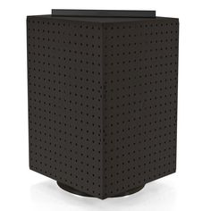 Azar Displays 20 in. H x 14 in. W Interlock Pegboard Tower on a Revolving Base in Black Paparazzi Display, Paparazzi Jewelry Displays, Counter Display, Table Top Display, Display Boards, Counter Top, Earring Display, Jewellery Display, Earring Holders
