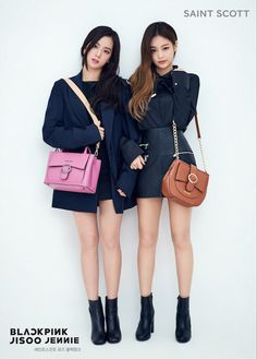 Jisoo and Jennie