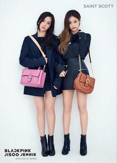 Jisoo and Jennie