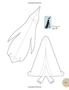 Paper Birds: Projects to Copy, Cut, and Fold Pvc Pipe Crafts, Pvc Pipe Projects, Bird Template, Paper Birds, Paper Animals, Paper Crafts Origami, Bird Patterns, Baby Kind, Paper Toys