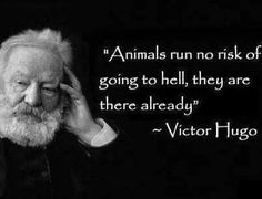 #Great minds tend to #think alike. try #veg #vegan #farm365 #animalrights #meat #egg #dairy #food #diet #victorhugo