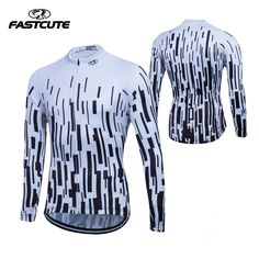 39.99$  Buy here - http://aidzl.worlditems.win/all/product.php?id=32800865082 - Fastcute Winter 2016 Long Sleeve Thermal Fleece Cycling Jersey Men Clothing Bicycle Maillot  Ciclismo Bike Clothes #282